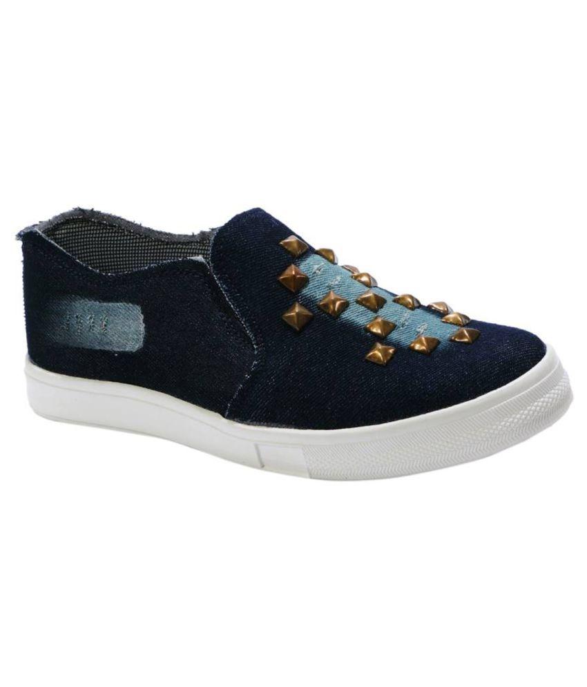 TTS Blue Casual Shoes