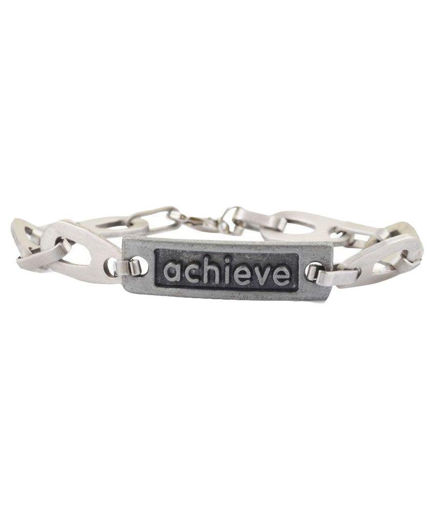 Alpha Man Silver Bracelet
