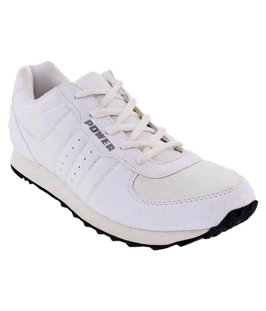 Bata Power White Running Shoes - Buy Bata Power White