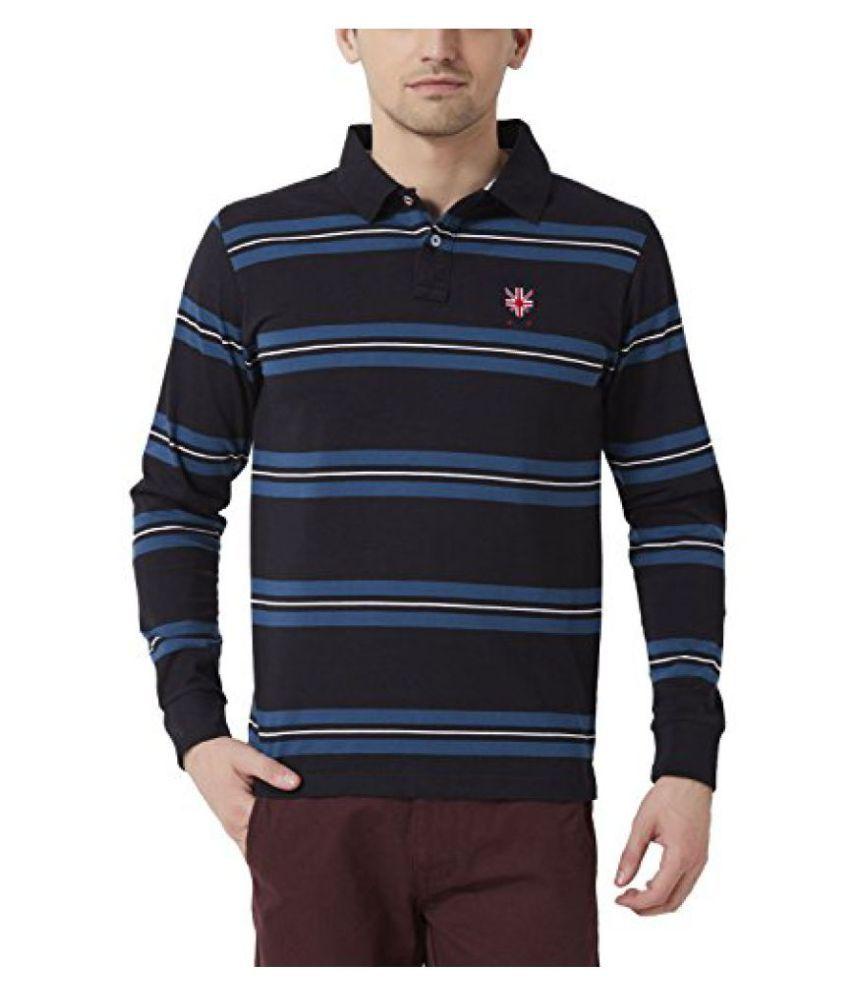 Peter England Men's Regular Fit Shirt_ EKP51500407_M_ Black