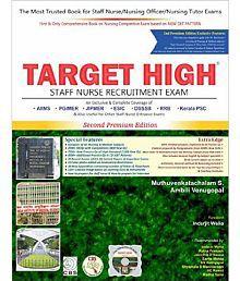 Target High Staff Nurse Recruitment Exam (With Free Interactive CD Rom)