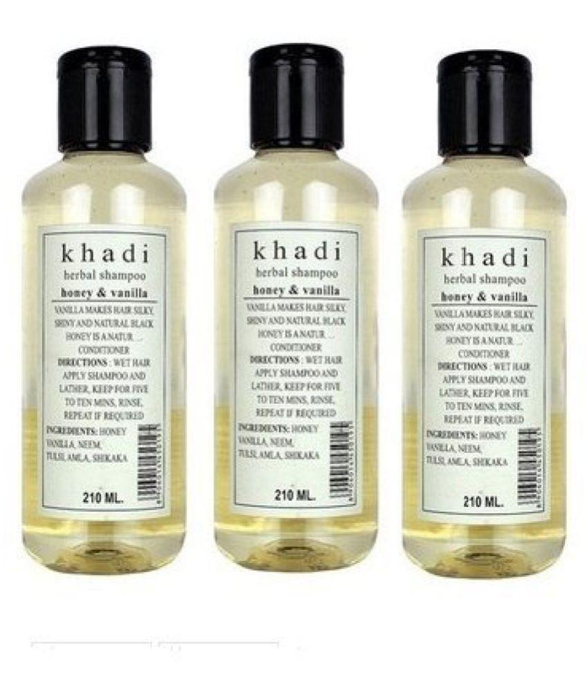 Khadi Honey and Vanilla Shampoo, 630ml