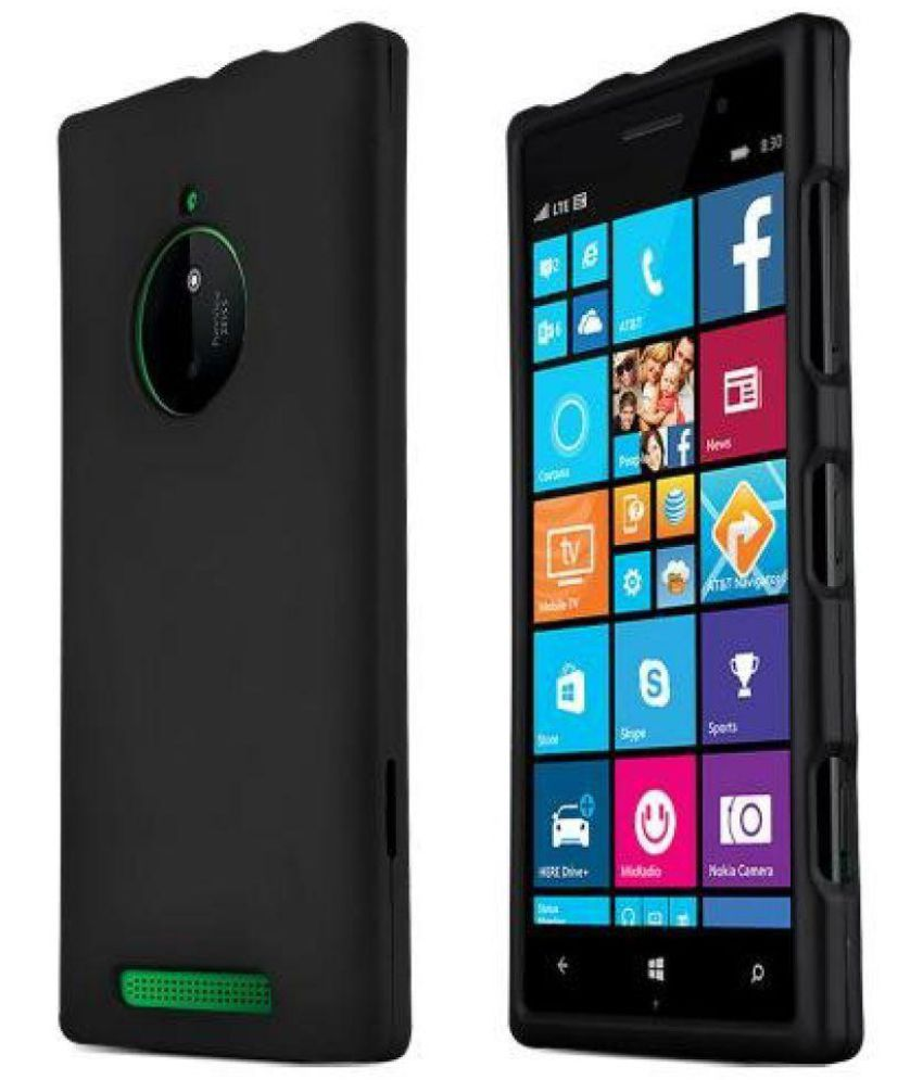 uk availability 8bfb1 9886a Nokia Lumia 830 Cover by Ascension - Black