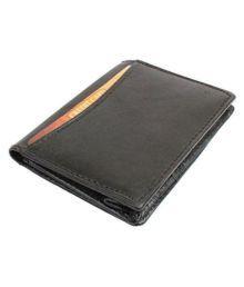 Marwa Bi-fold Black Card Holder