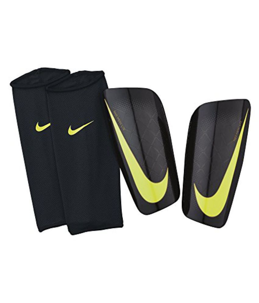 Nike Mercurial Lite Soccer Shin Guards, Unisex X-Large (Black)