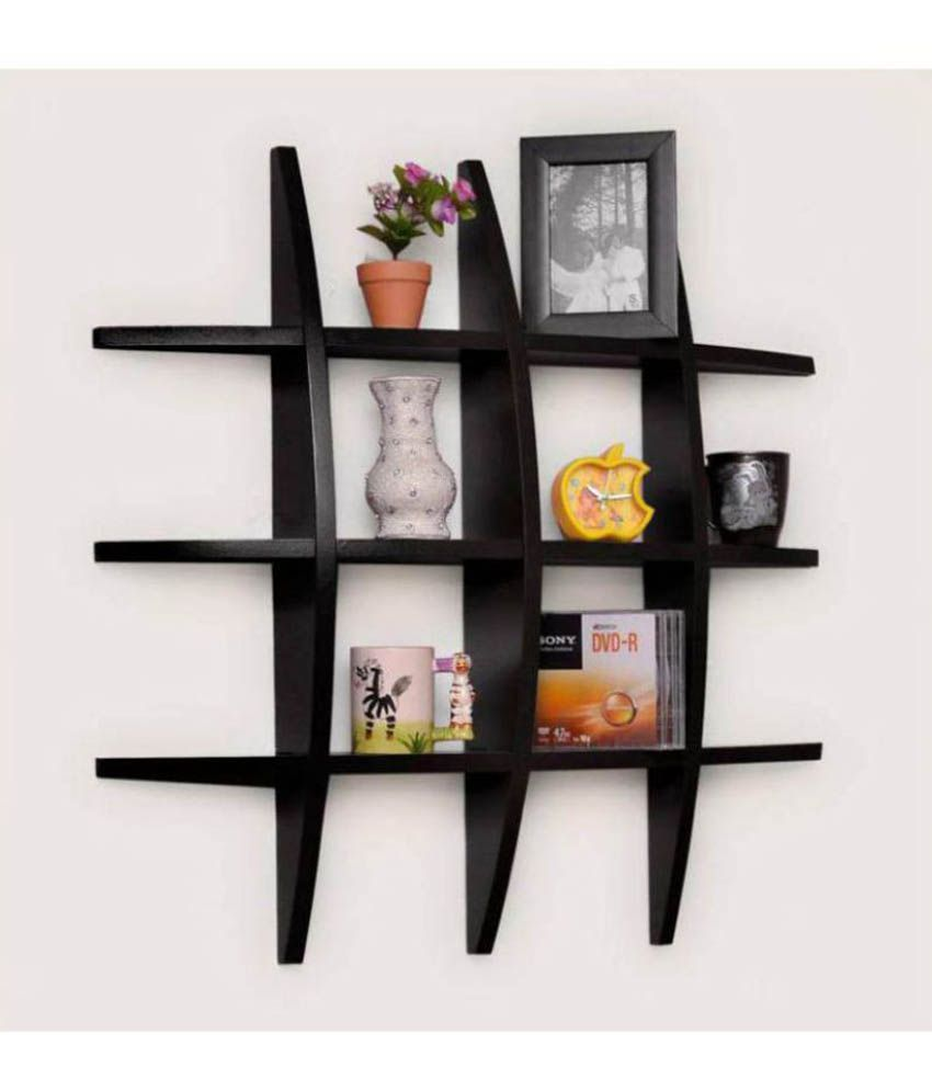 Onlineshoppee Floating Shelf Wall Shelf Book