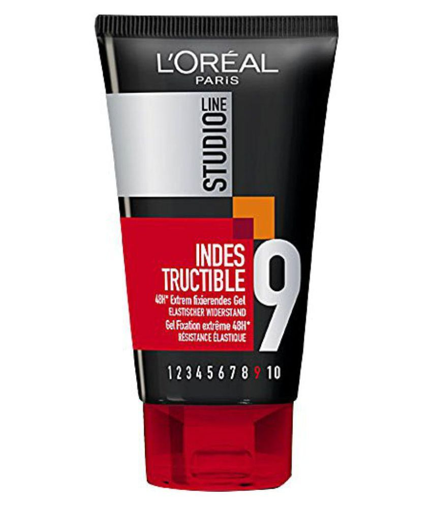 l oreal studio line 9 xtreme hold 48hr indestructable gel crme
