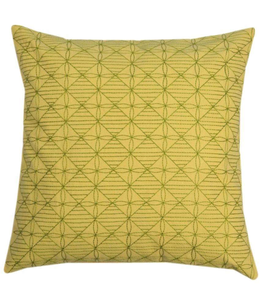 Yamini Single Cotton Cushion Covers 40X40 cm (16X16)