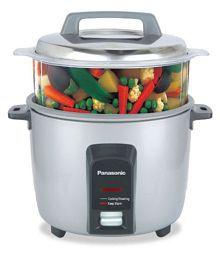 Panasonic SR-Y18FHS 4.4-Litre 660-Watt Automatic Cooker -Warmer/Steamer