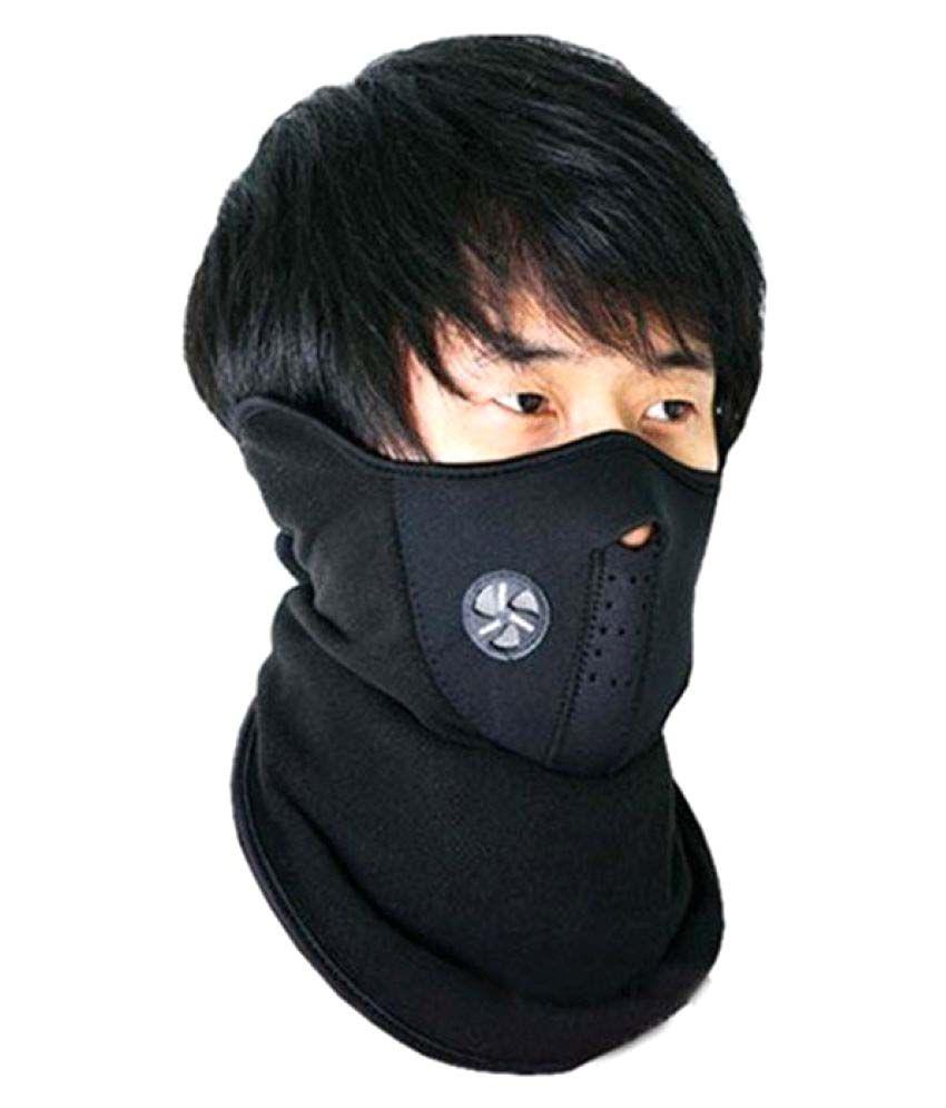 Medineeds Anti Pollution Bike Face Mask - Black