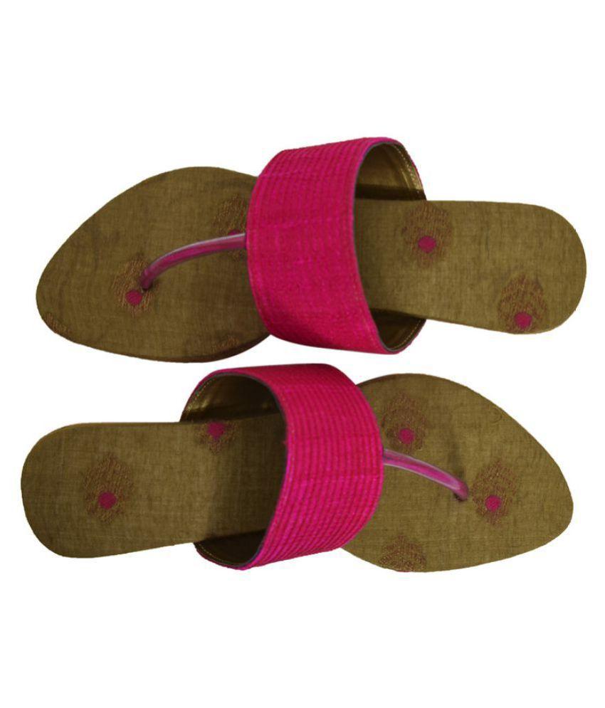 Samayra Pink Block Flats