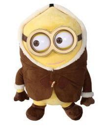 Tlf Brown Plush Minion Soft Toy