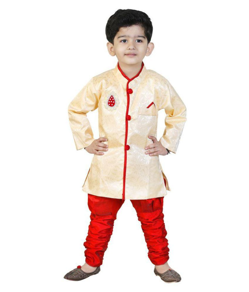 Next Generation Multicolour Cotton Kurta Pyjama Set  available at snapdeal for Rs.249
