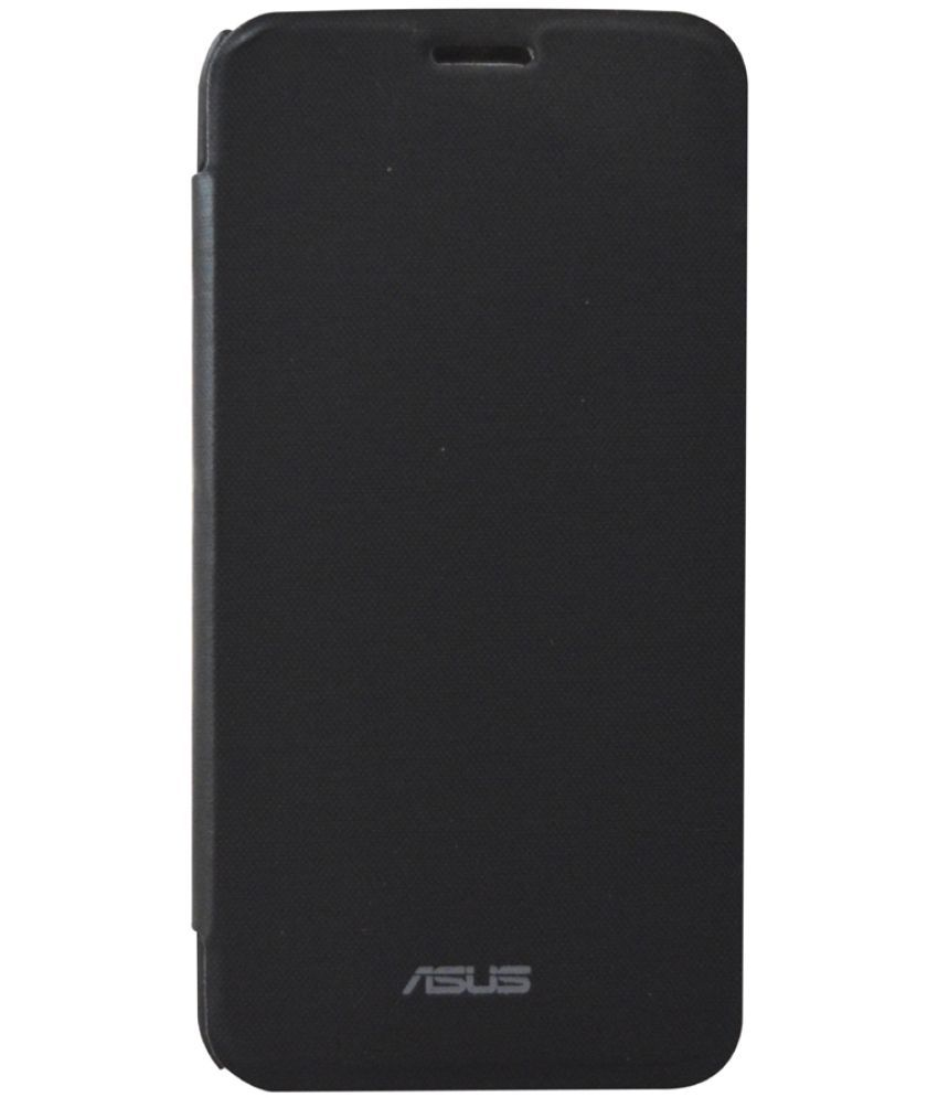 Asus Zenfone 2 Laser 5.5 Flip Cover by Coverage - Black