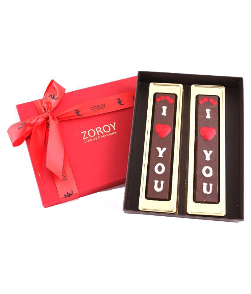 Zoroy Luxury Chocolate Valentine's Day Chocolate Box Valentine day chocolate gift 60 gm