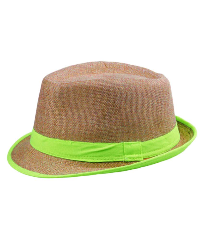 The Beach Company Brown Cotton Hats