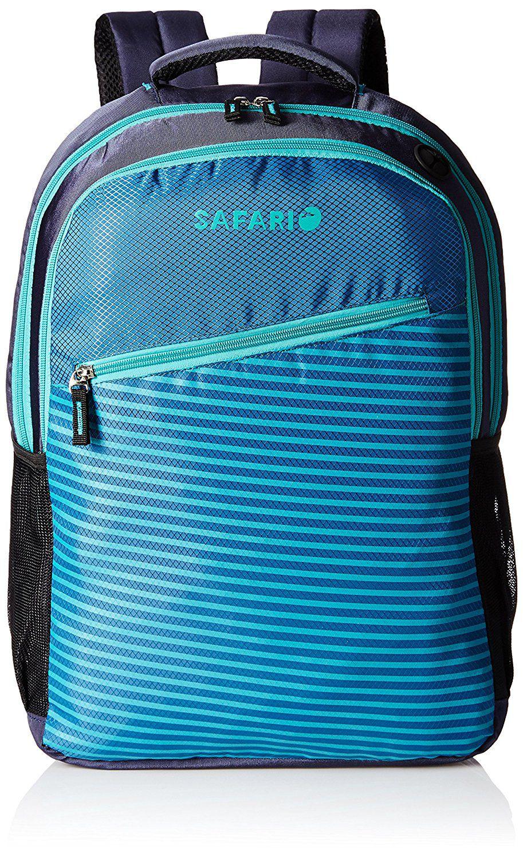 Safari Slide Blue Causal Backpack