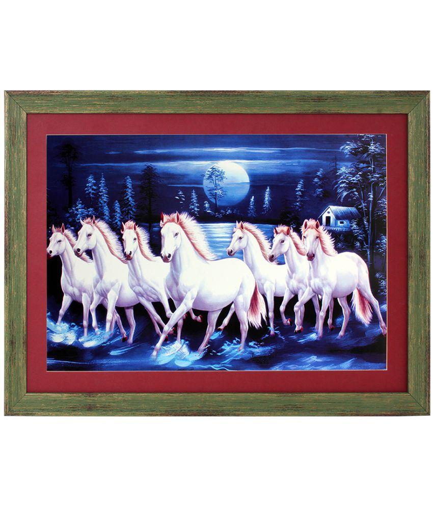 Art N Hub Acrylic Painting With Frame Single Piece