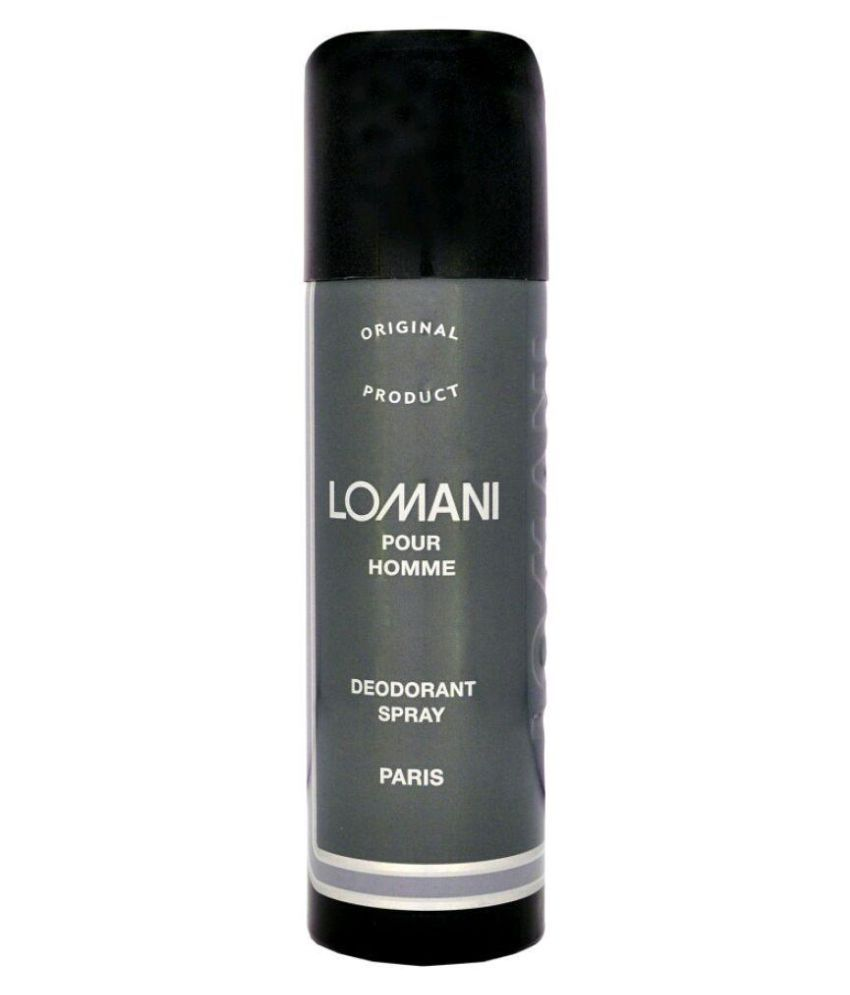 945b28cb15c Lomani Deodorant Spray 150 ml  Buy Online at Best Prices in India - Snapdeal