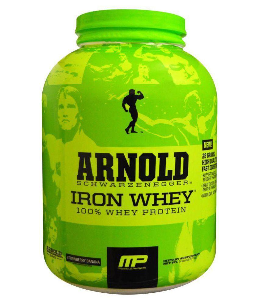 Iron whey muscle pharm