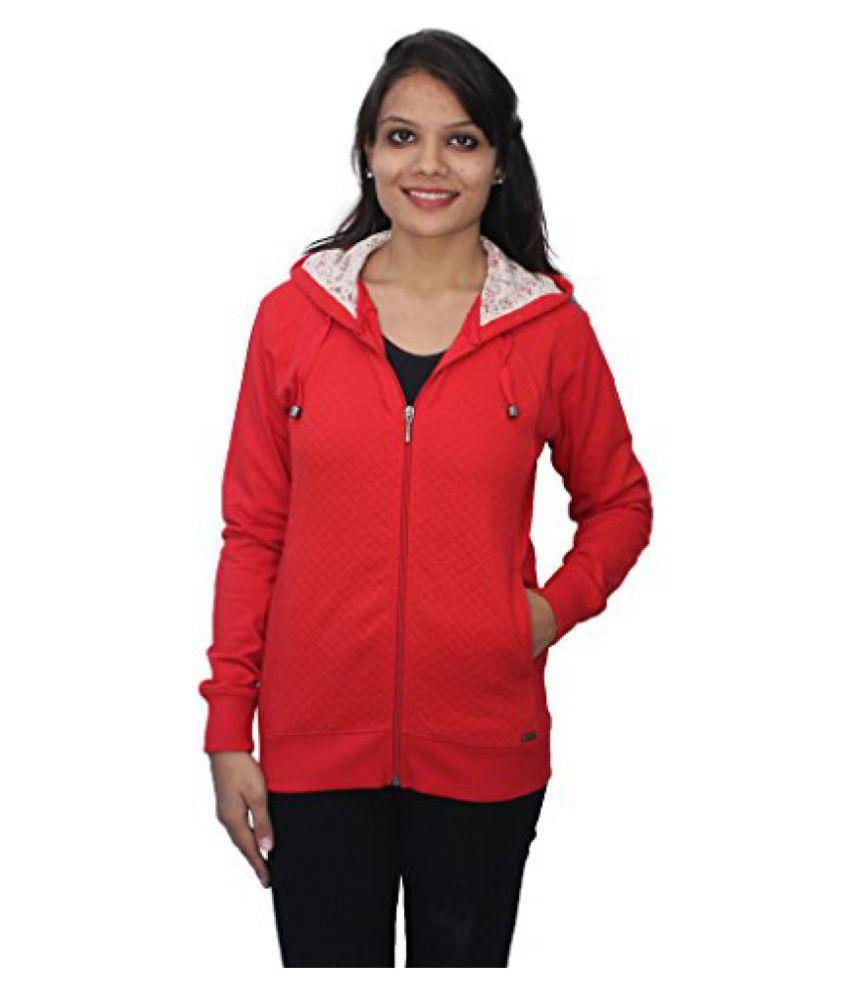 Romano Women's Winter Sweatshirt Fleece Jacket Full Sleeves