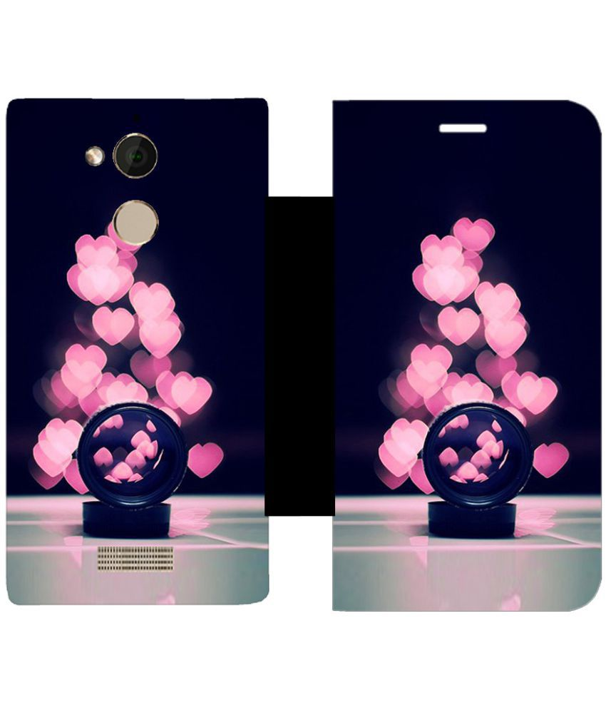 Coolpad Note 5 Flip Cover by Skintice - Multi