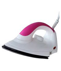 Maxony Dry Iron White and Pink