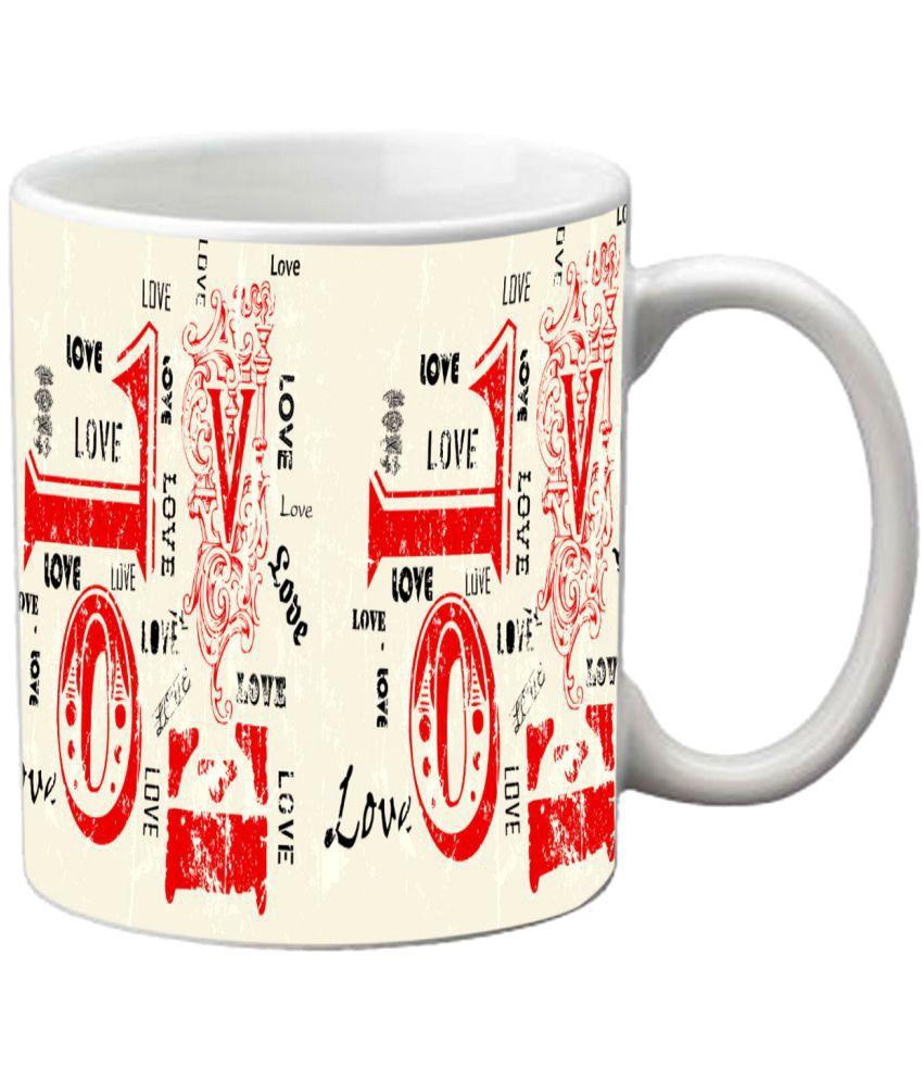 meSleep Ceramic Coffee Mug 1 Pcs 300 ml