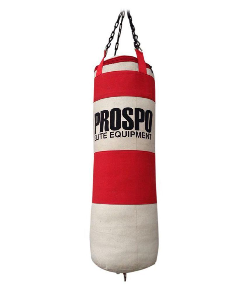 7befd84b6 Prospo Red Synthetic Boxing Heavy Bags  Buy Online at Best Price on Snapdeal