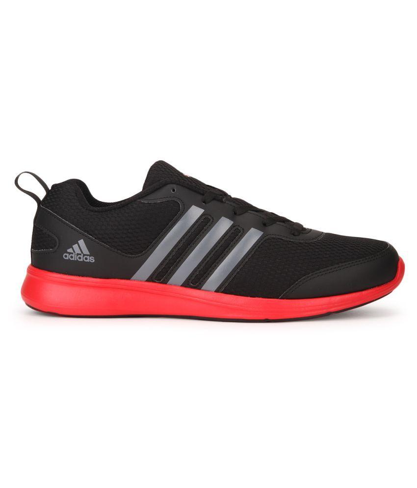 Adidas Yking M Black Running Shoes - Buy Adidas Yking M