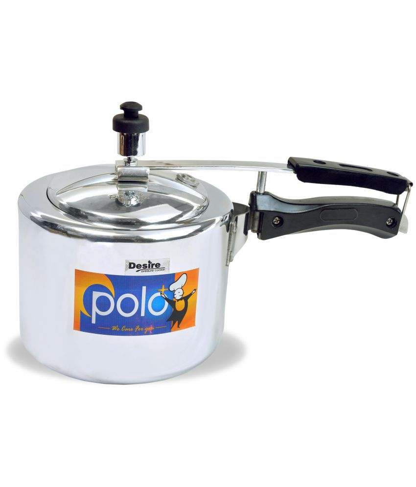 Polo+ Desire 3 Ltrs Aluminium Innerlid Pressure Cooker Snapdeal Rs. 929.00
