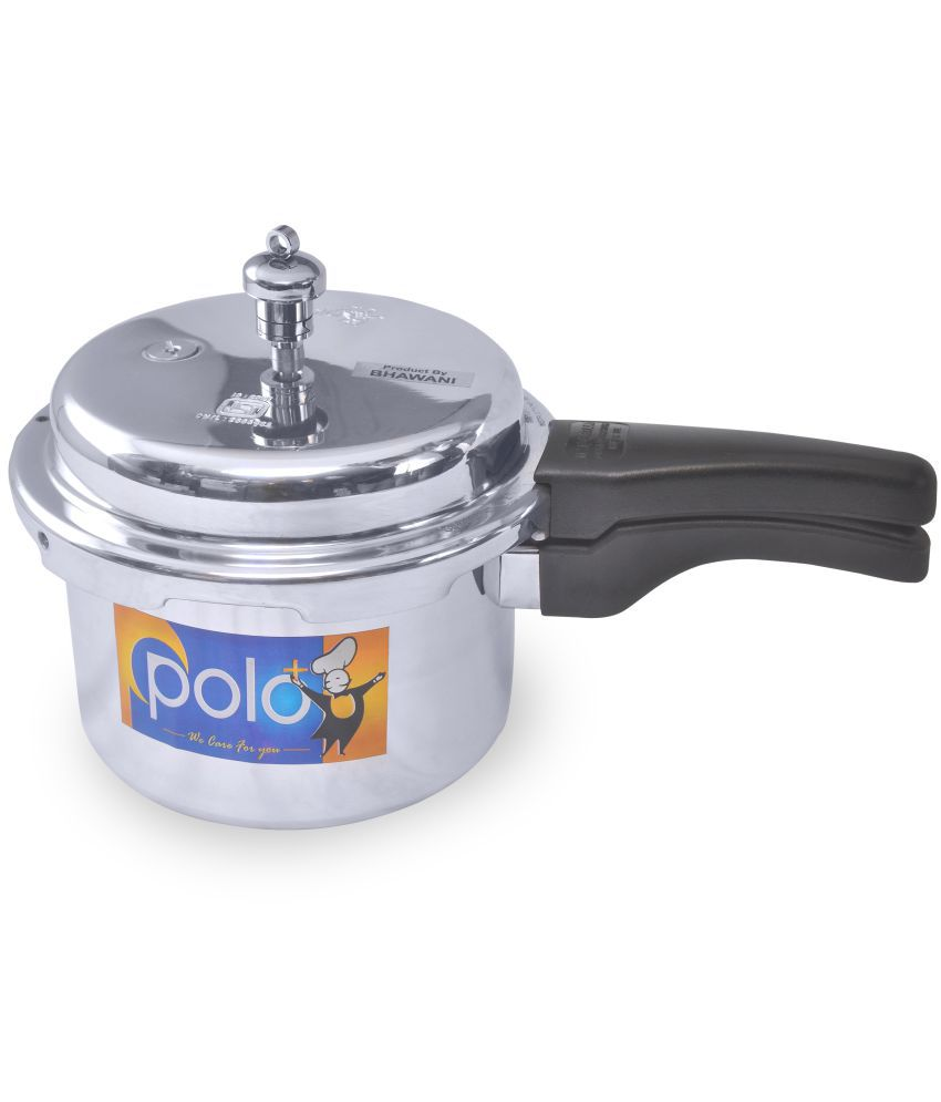 Polo+ Elegant 3.5 Ltrs Aluminium Outerlid Pressure Cooker Snapdeal Rs. 929.00