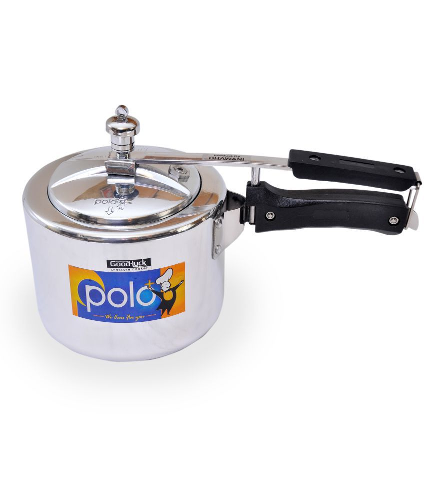 Polo+ Good Luck 3 Ltrs Aluminium Innerlid Pressure Cooker Snapdeal Rs. 889.00