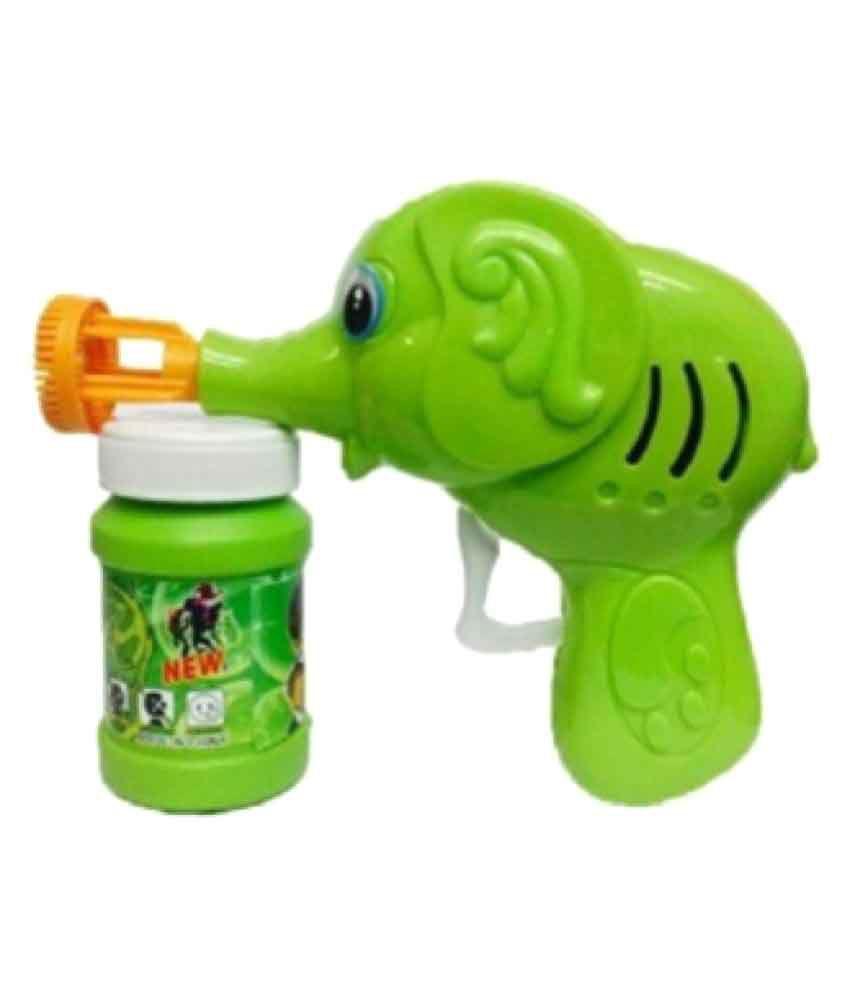 Ben 10 Green Bubble Gun Blower Toy