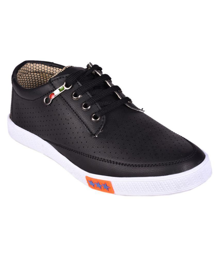 94556a81f68814 Messi Sneakers Black Casual Shoes - Buy Messi Sneakers Black Casual Shoes  Online at Best Prices in India on Snapdeal