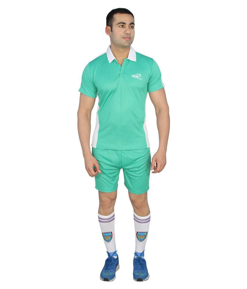 RS Sports Green Active Wear