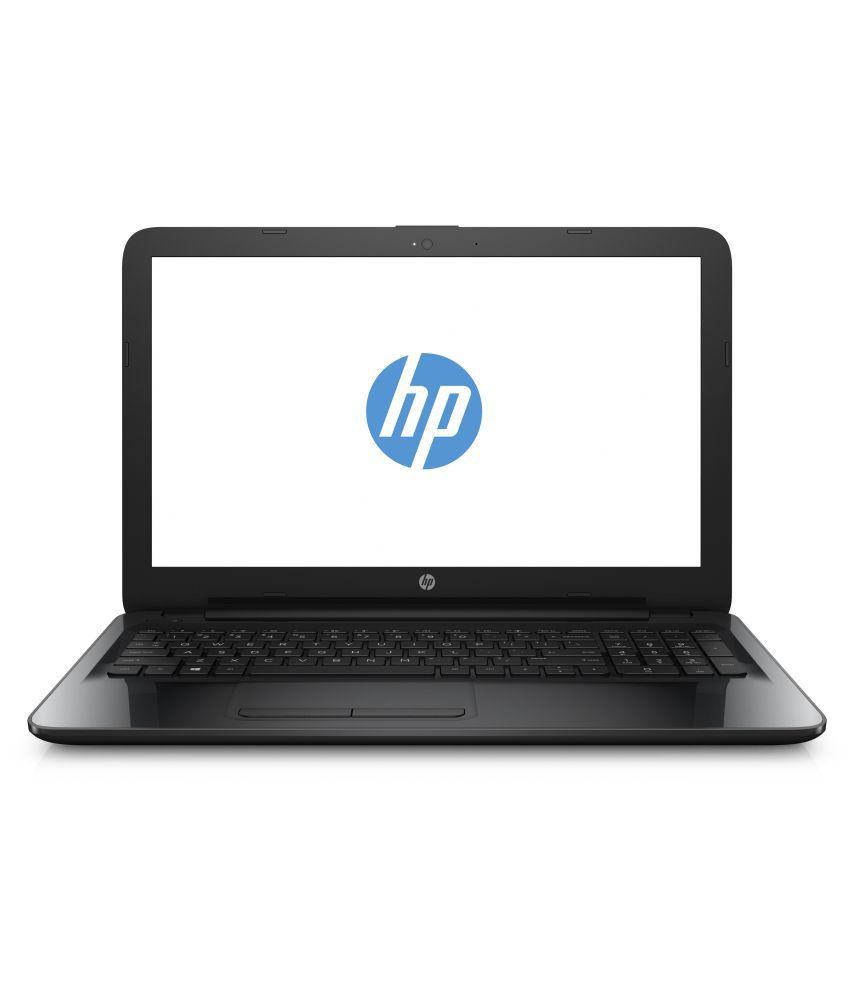 HP 15 Notebook Core i3 (6th Generation) 4 GB 39.62cm(15.6) Windows 10 Home Black