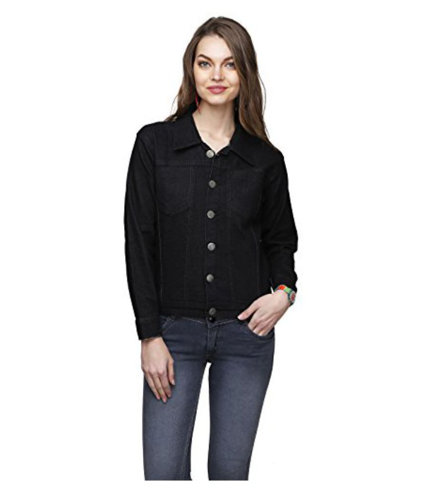 af7e736b64f7 Buy Ganga Women s Denim Jacket Online at Best Prices in India - Snapdeal