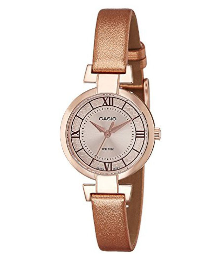 5f138758745 Casio Enticer Analog Rose Gold Dial Womens Watch-LTP-E403PL-9A1VDF Price in  India  Buy Casio Enticer Analog Rose Gold Dial Womens Watch-LTP-E403PL-9A1VDF  ...