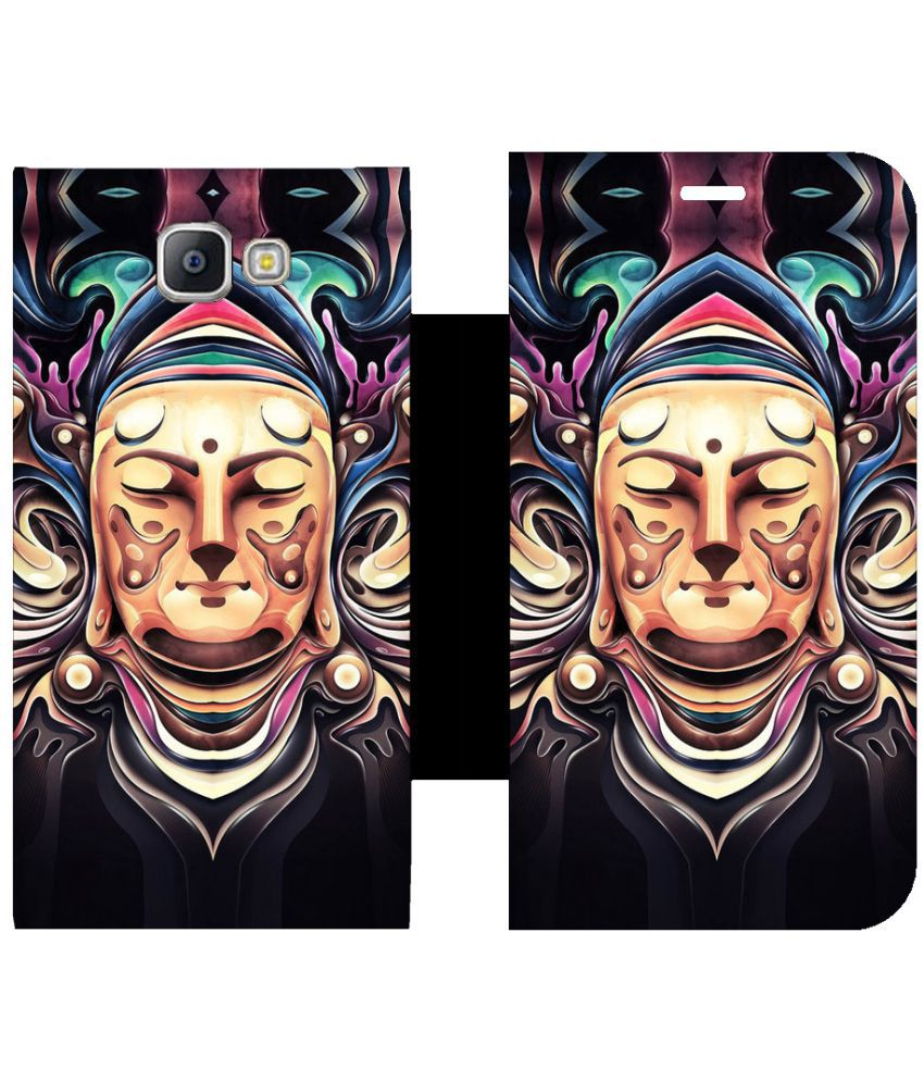 Samsung Galaxy A9 Pro Flip Cover by Skintice - Multi