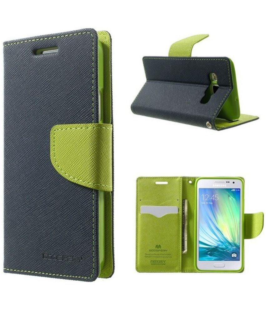 Samsung Galaxy Note 4 Flip Cover by TUP - Blue