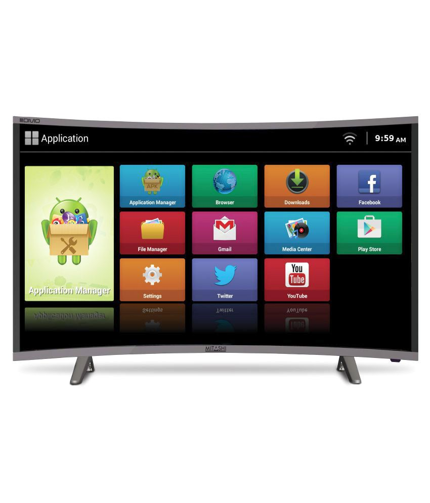 Mitashi MiCE039v30 HS 97.79 cm ( 38.5 ) Smart HD Ready (HDR) Curved LED Television