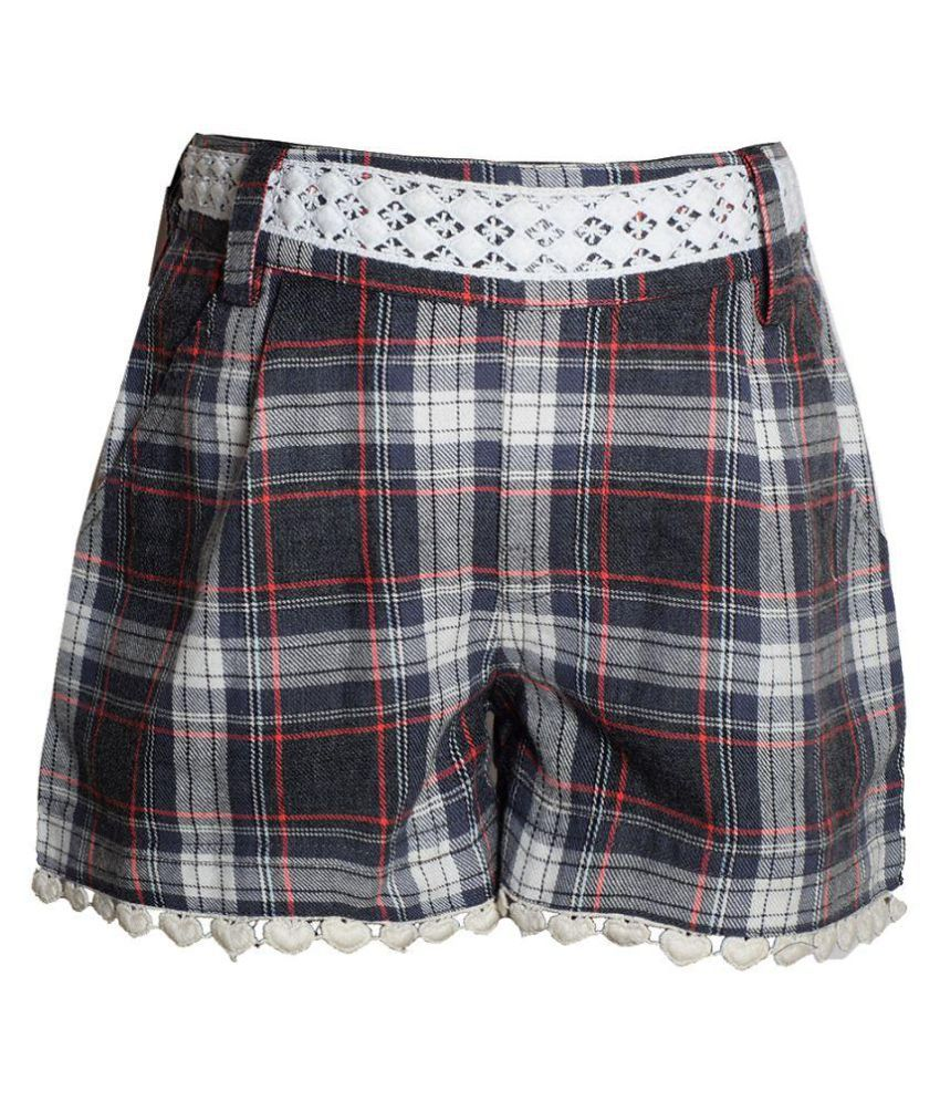 Naughty Ninos Multicolour Cotton Shorts