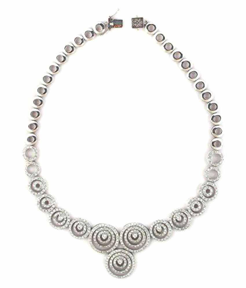 Sakshi 18k BIS Hallmarked Gold Necklace