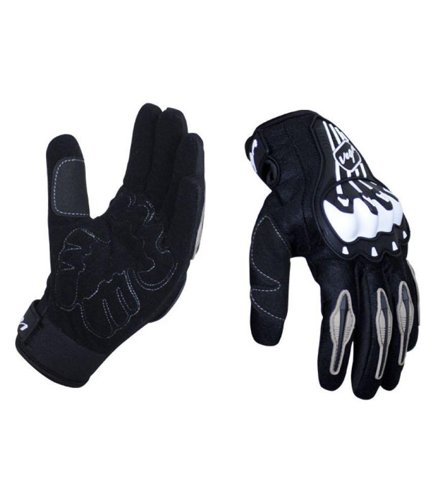 Motorcycle gloves online india - Vega Mcs 18 Motorcycle Glove Black