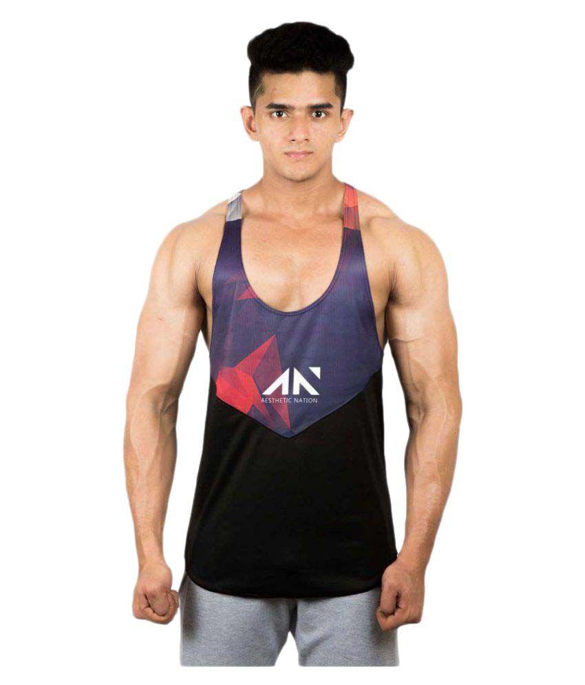 Aesthetic Nation Gym Stringer Vest
