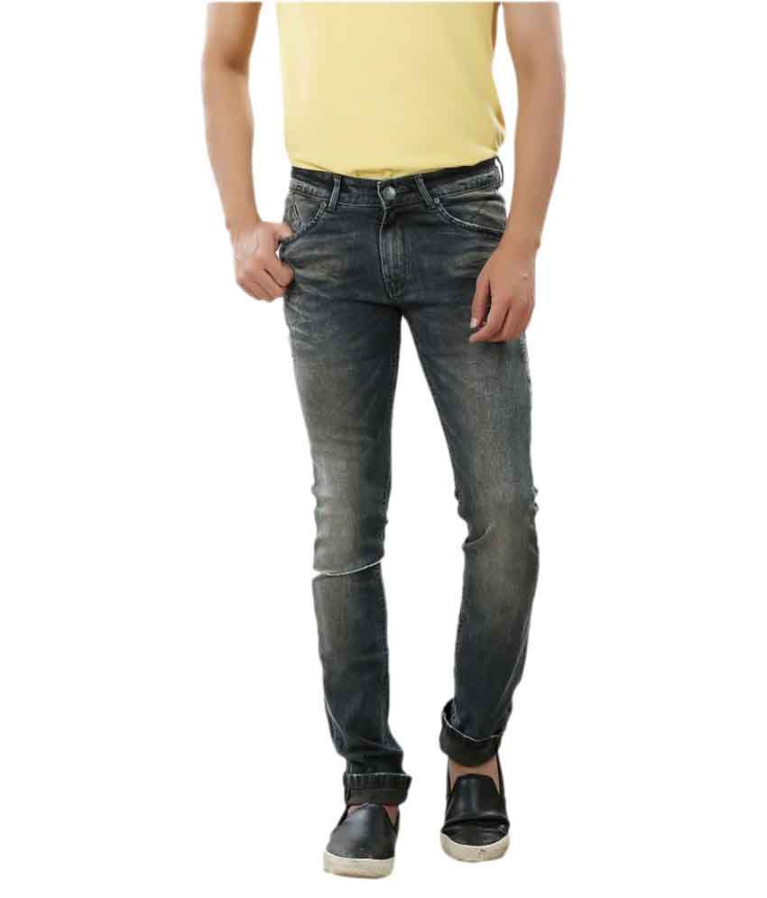 Frod Black Slim Jeans