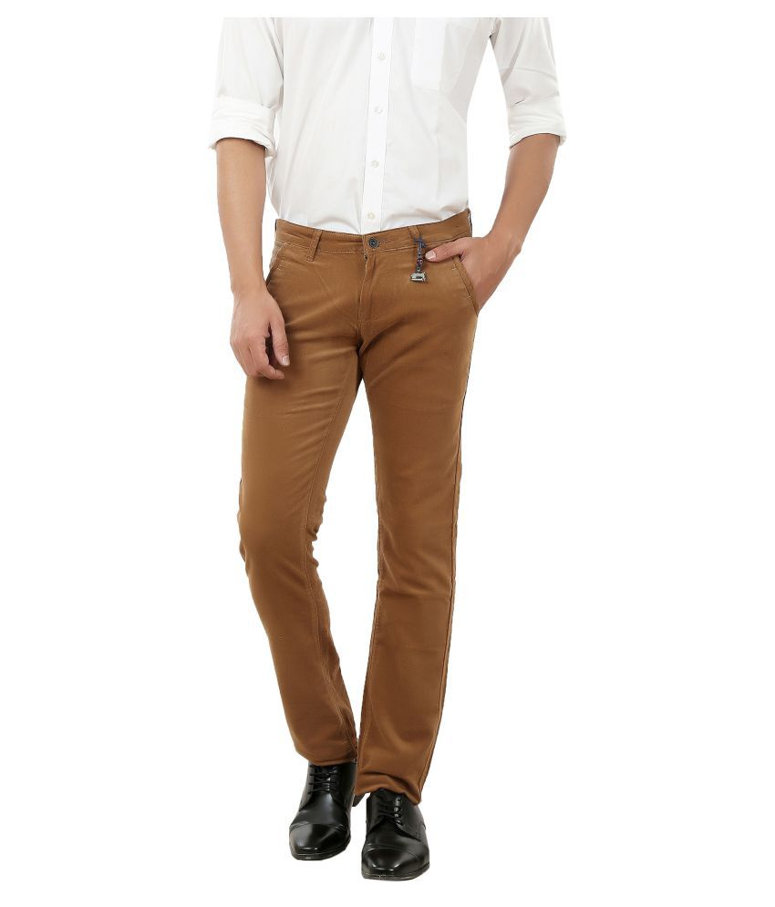 Frod Brown Slim Jeans
