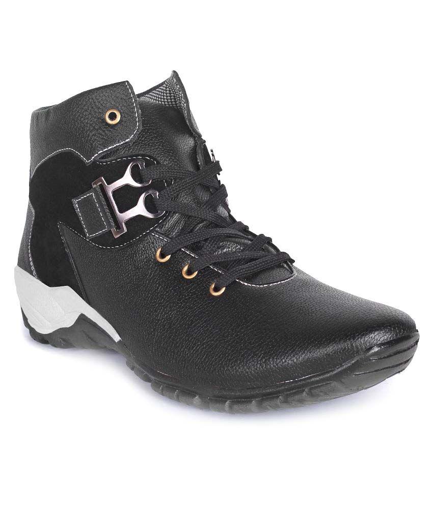 Buwch Black Casual Boot