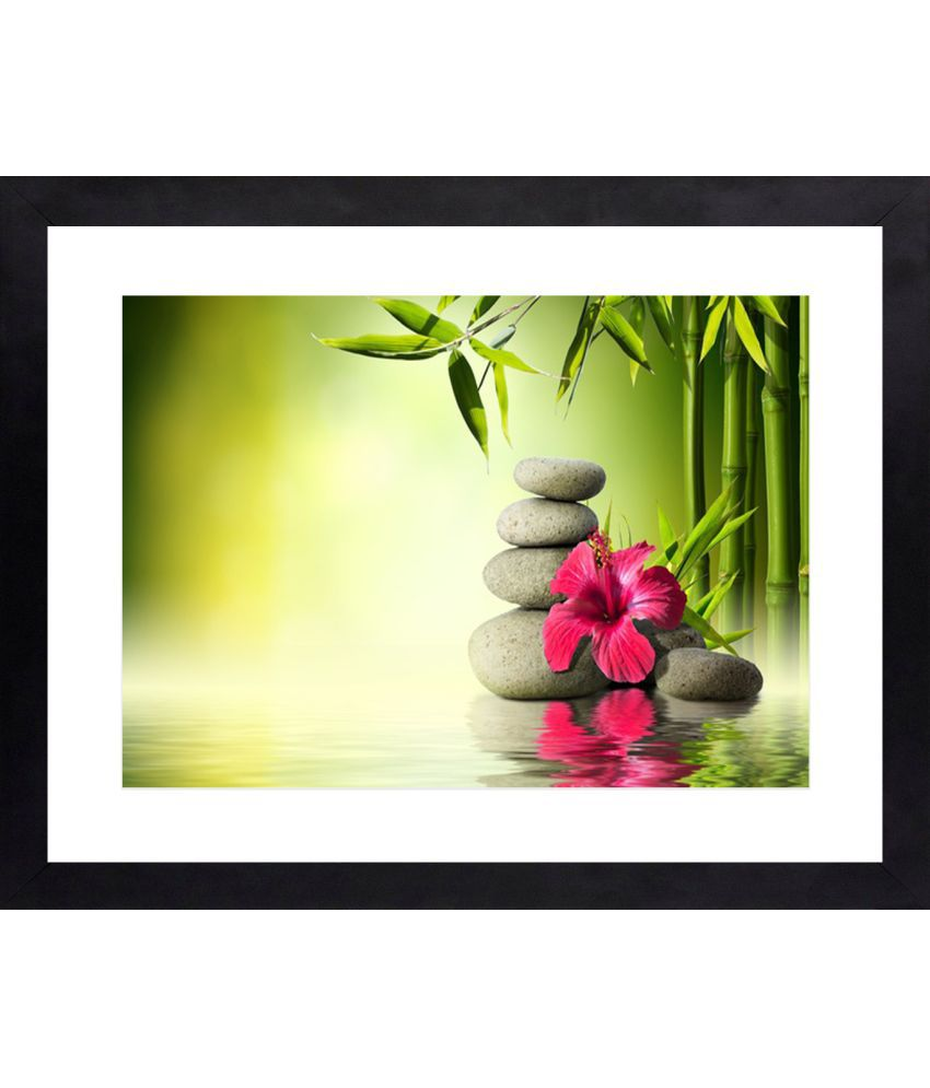 Craftsfest Canvas Painting With Frame Single Piece